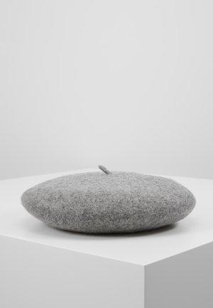 Mössa - silver/grey melange