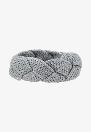 STIRNBAND - Ear warmers - silver grey melange