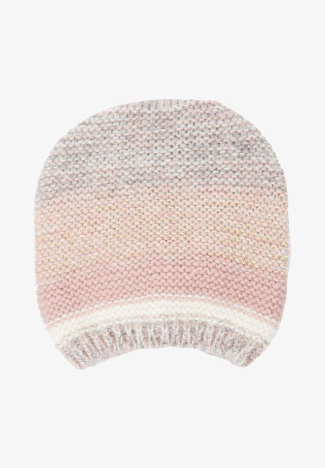 MIT FARBVERLAUF - Mütze - blush