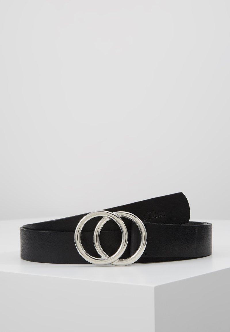 s.Oliver - Belte - black