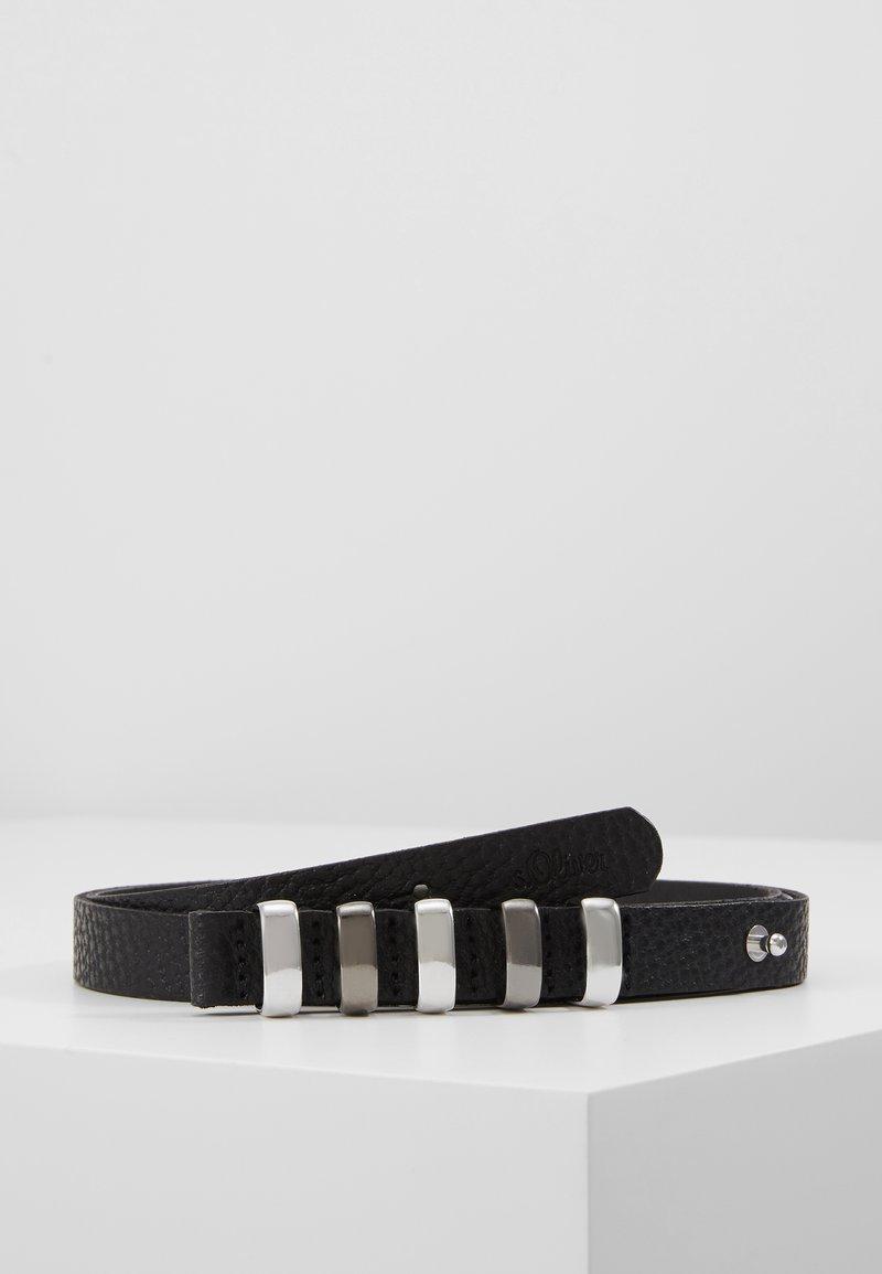 s.Oliver - Belt - grey/black