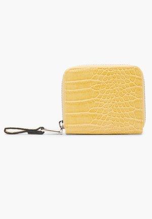 PORTEMONNAIE MIT ZIPPER - Wallet - yellow