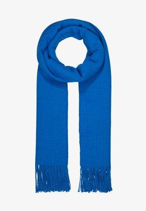 Sjal - blue melan