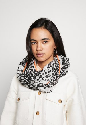 SNOOD - Kruhová šála - grey/black