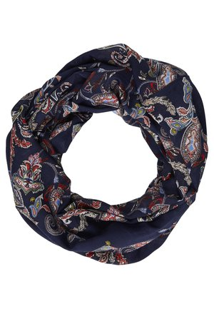 LOOP MIT PAISLEY-MUSTER - Snood - navy AOP
