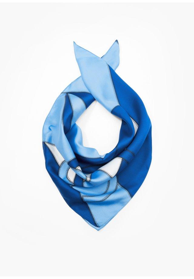 FOULARD À IMPRIMÉ ALL-OVER - Tuch - blue placed print