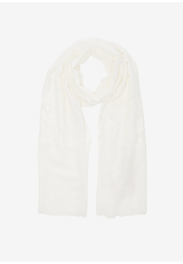 Embroidery-Muster - Sjaal - cream