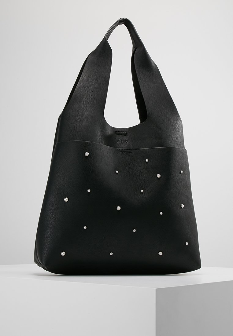 s.Oliver - SHOPPER - Shopping Bag - black