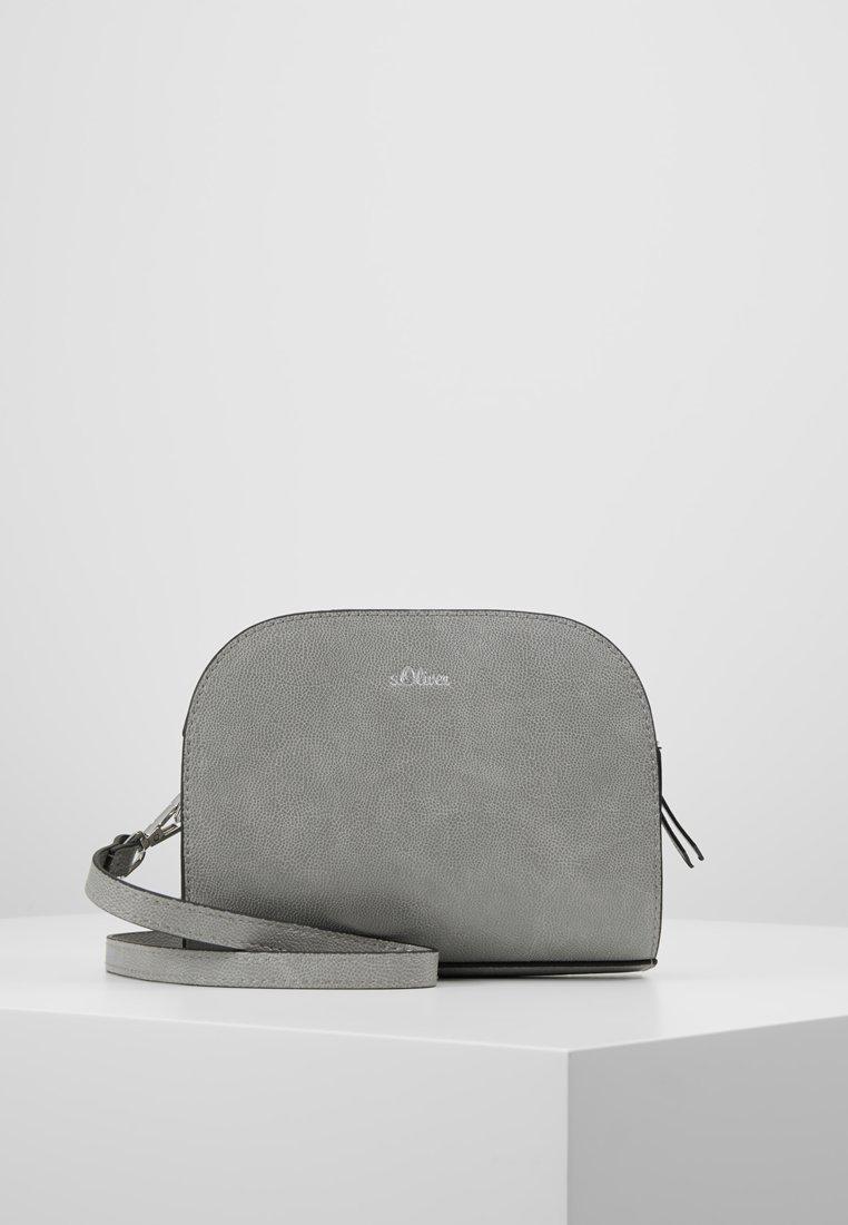 s.Oliver - CITY BAG - Across body bag - shark grey
