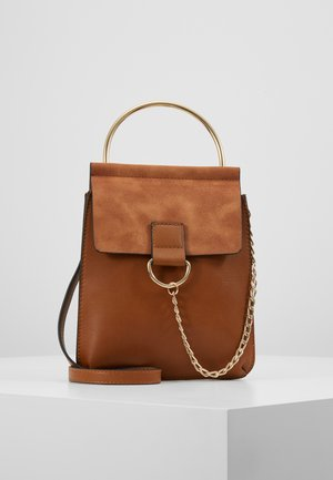 CITY BAG - Handväska - brown
