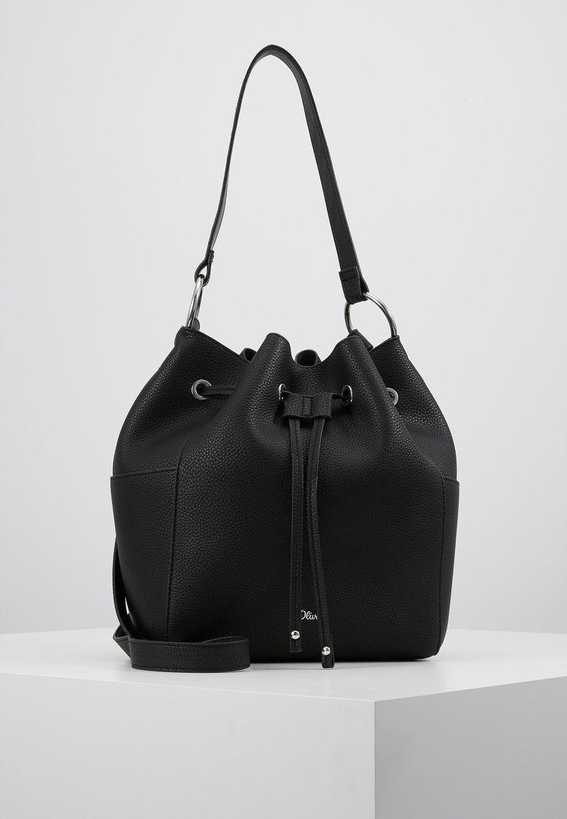 s.Oliver - HOBO BAG - Handtasche - black