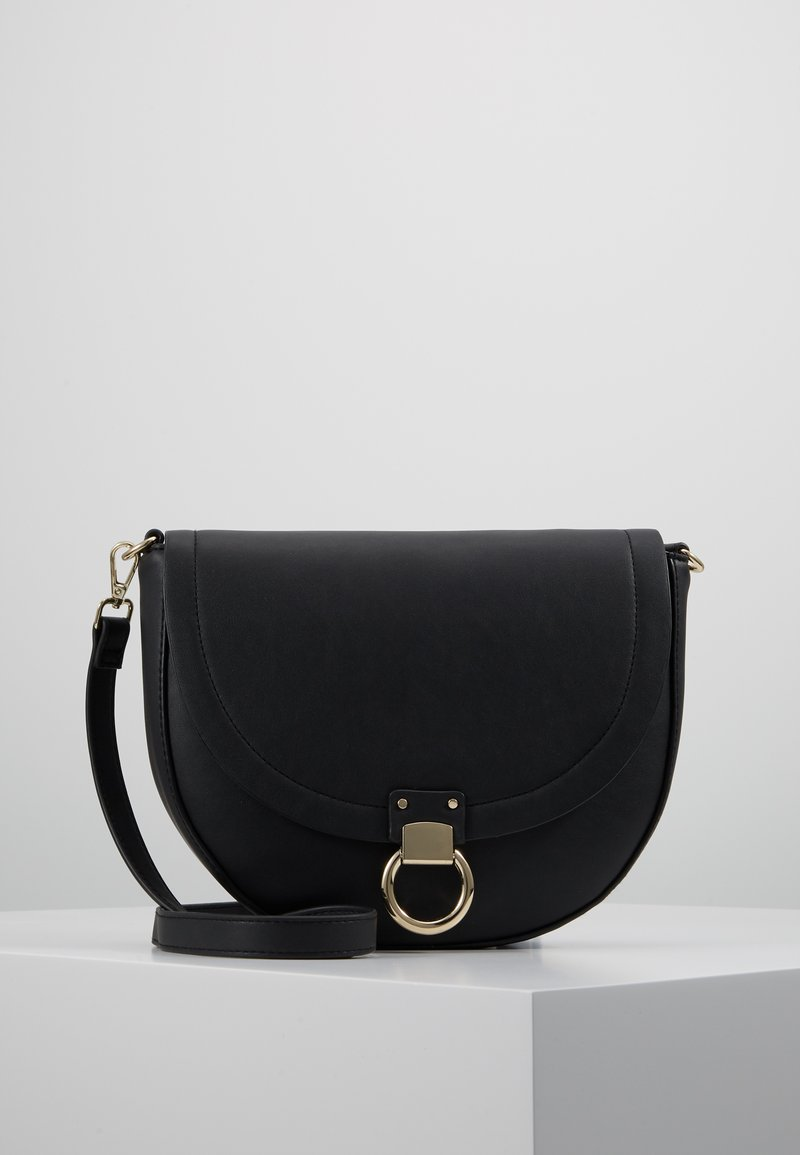 s.Oliver - CITY BAG - Skuldertasker - black