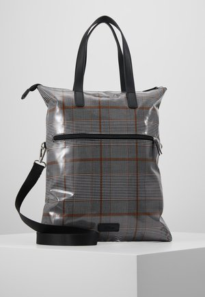 SHOPPER - Tote bag - grey/black