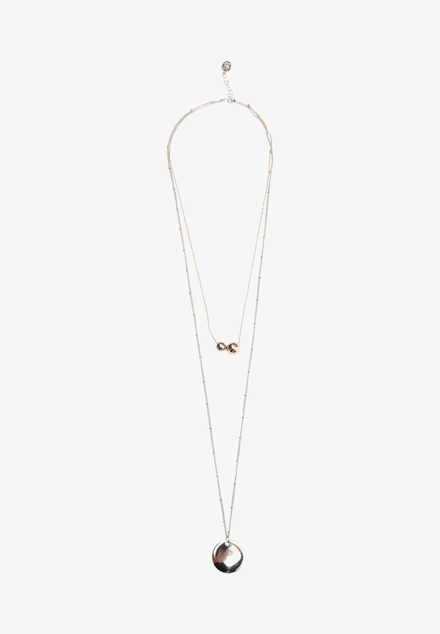 MIT ANHÄNGER - Halskette - white