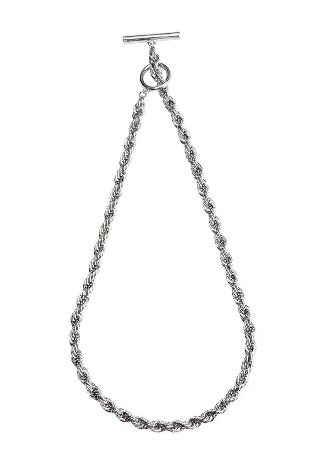 COLLIER - Halskette - rhodium