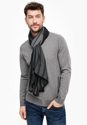 Scarf - grey/black