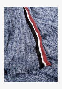 s.Oliver - WEBTUCH MIT STREIFEN-DETAIL - Scarf - blue stripes - 4