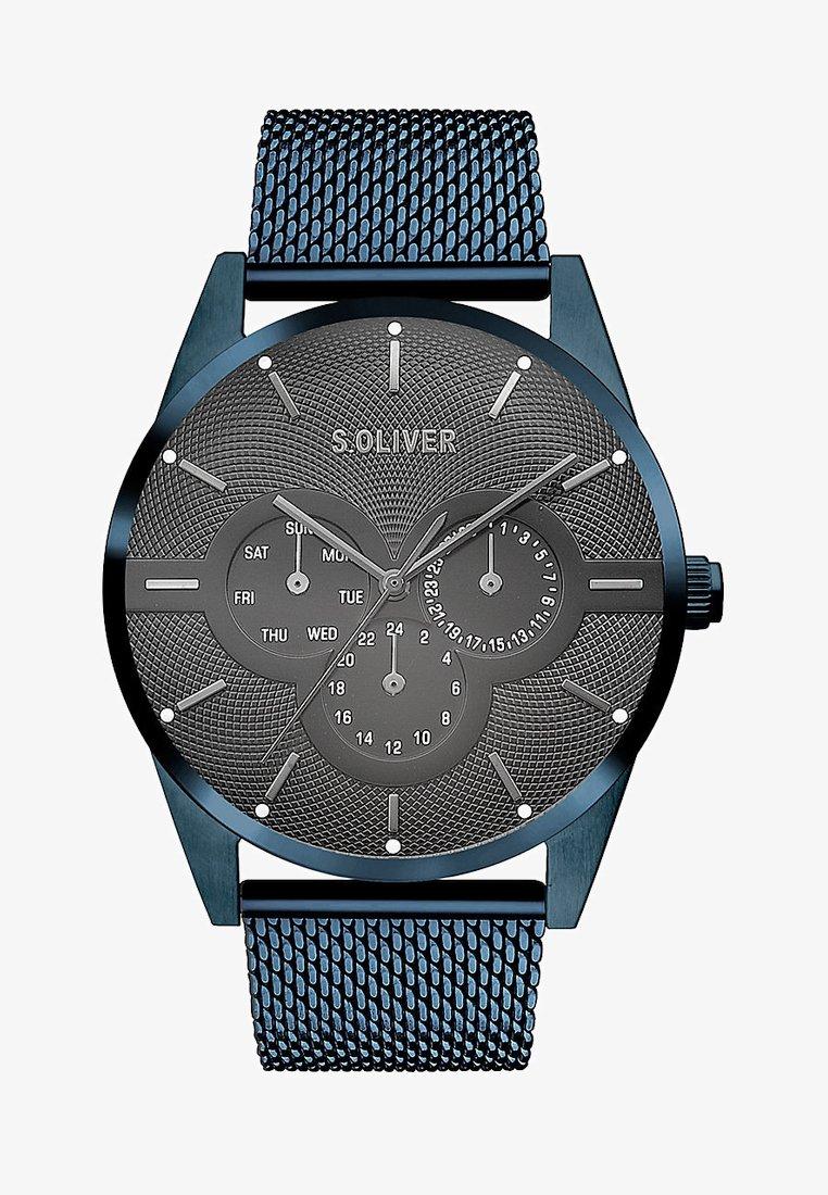 s.Oliver - HERREN - Uhr - blue