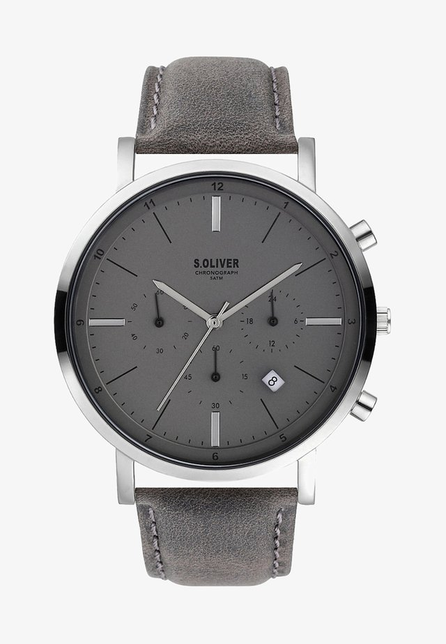 Chronograph watch - gray