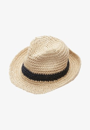 IN BAST-OPTIK - Hat - beige placed print