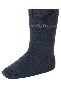 s.Oliver - 9 PACK - Socks - stone melange - 3