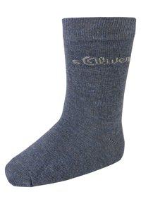 s.Oliver - 9 PACK - Socks - stone melange - 1