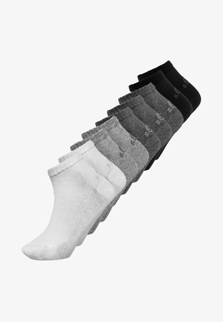 s.Oliver - JUNIOR SOCKS BASIC 9 PACK - Calcetines - grey combo
