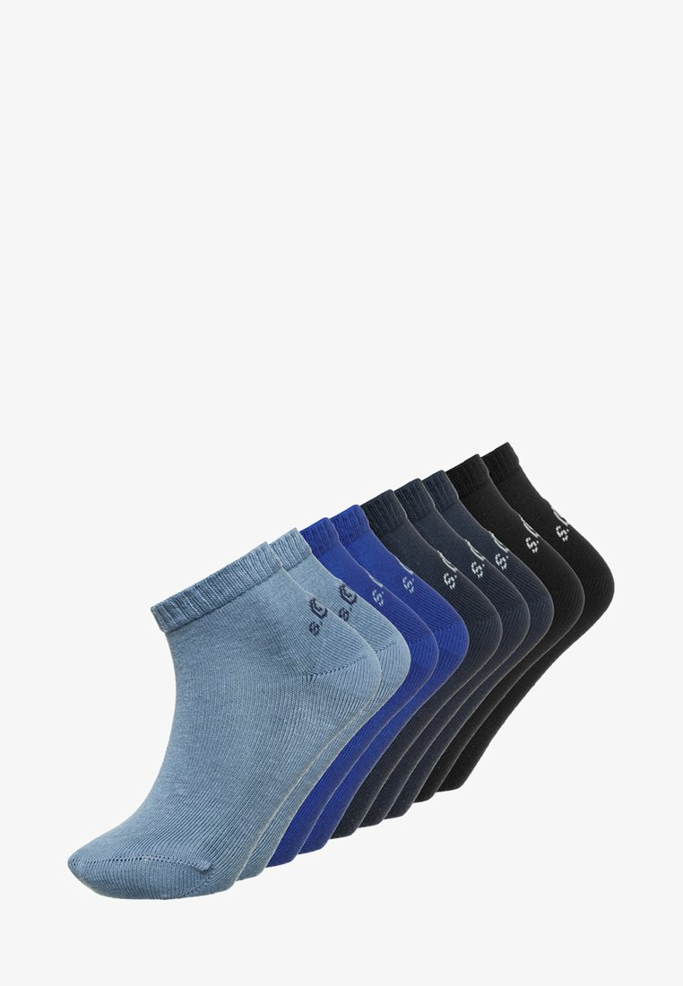 s.Oliver - JUNIOR SOCKS BASIC 9 PACK - Strømper - blue