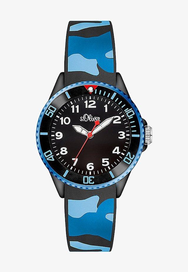 Watch - blau/schwarz