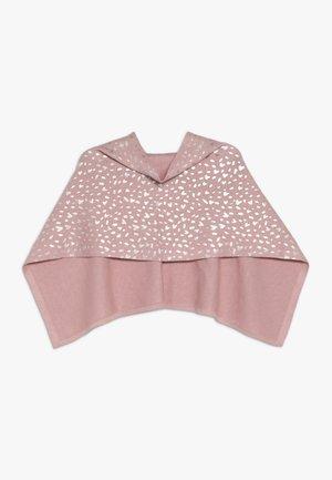 PONCHO - Cape - dusty pink
