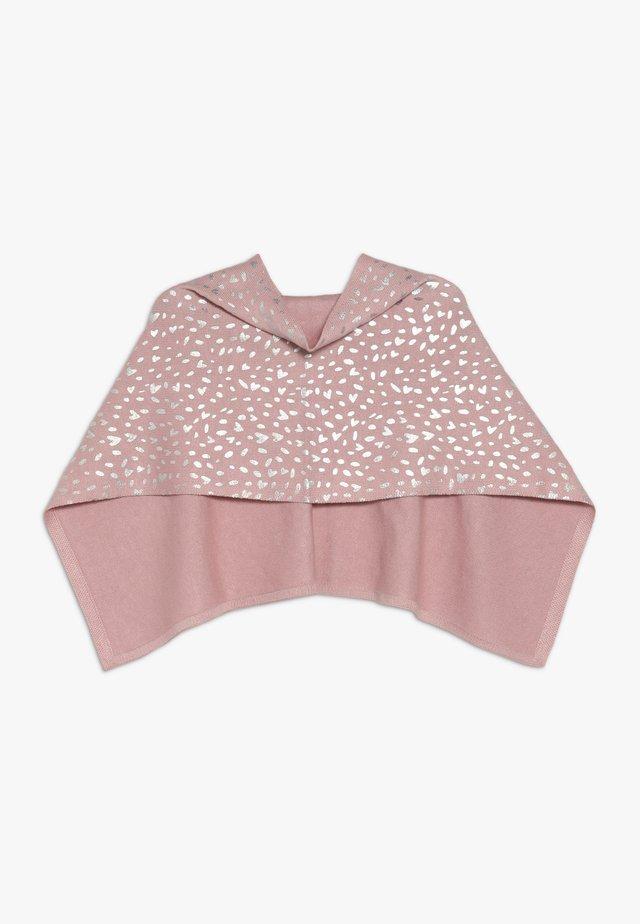 PONCHO - Poncho - dusty pink