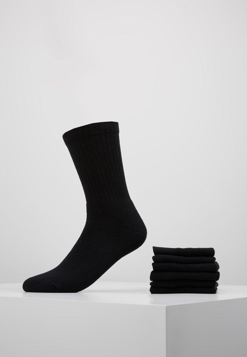 s.Oliver - CLASSIC SPORT 6 PACK - Strumpor - black