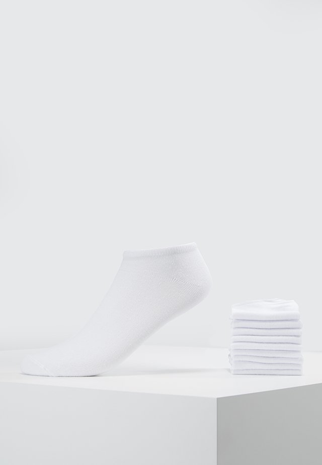 10 PACK - Socks - white