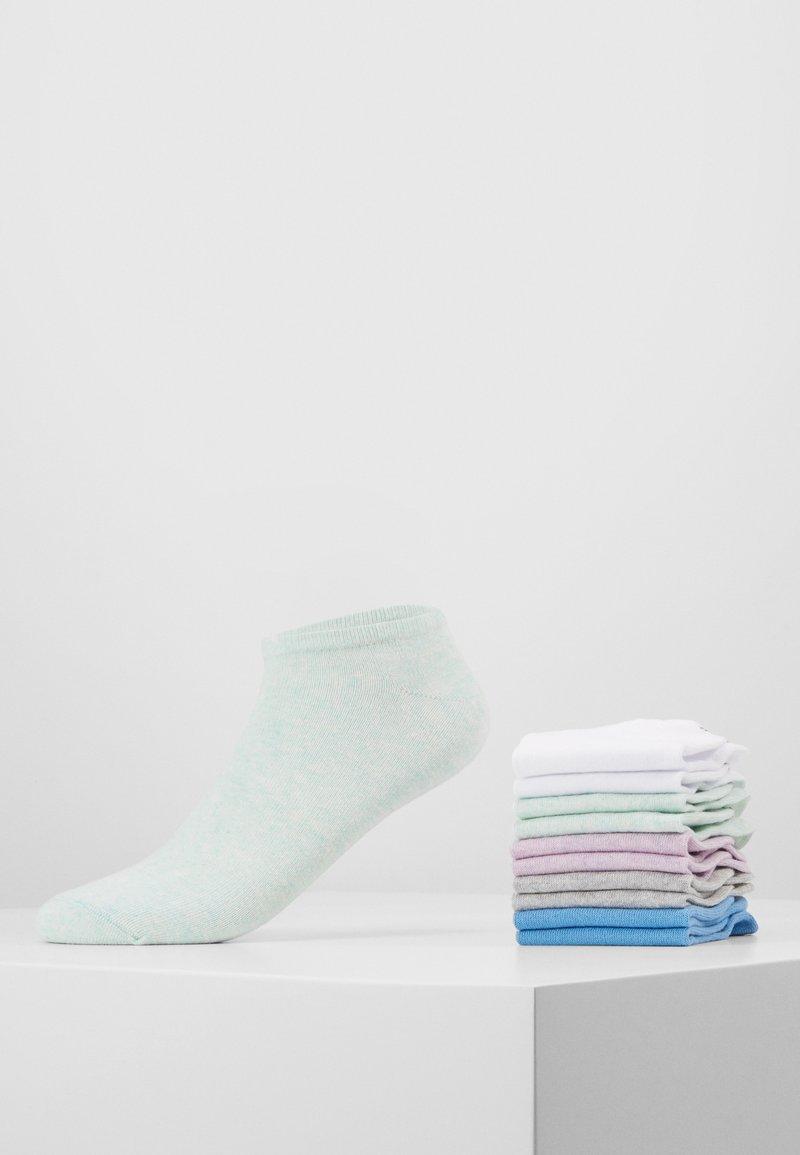 s.Oliver - 10 PACK - Sokker - mint/light grey/blue