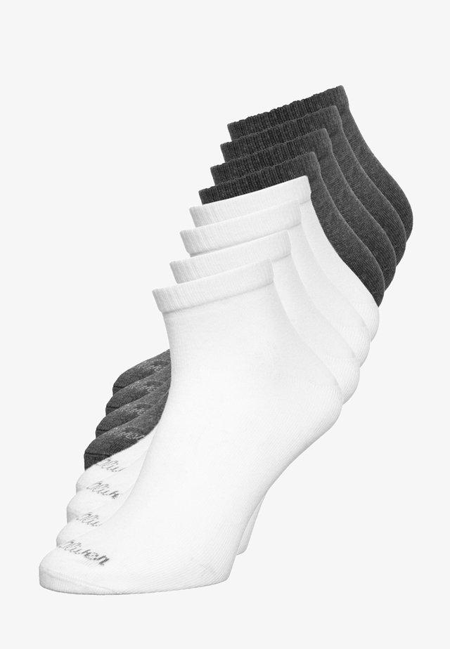 8 PACK - Ponožky - white/grey