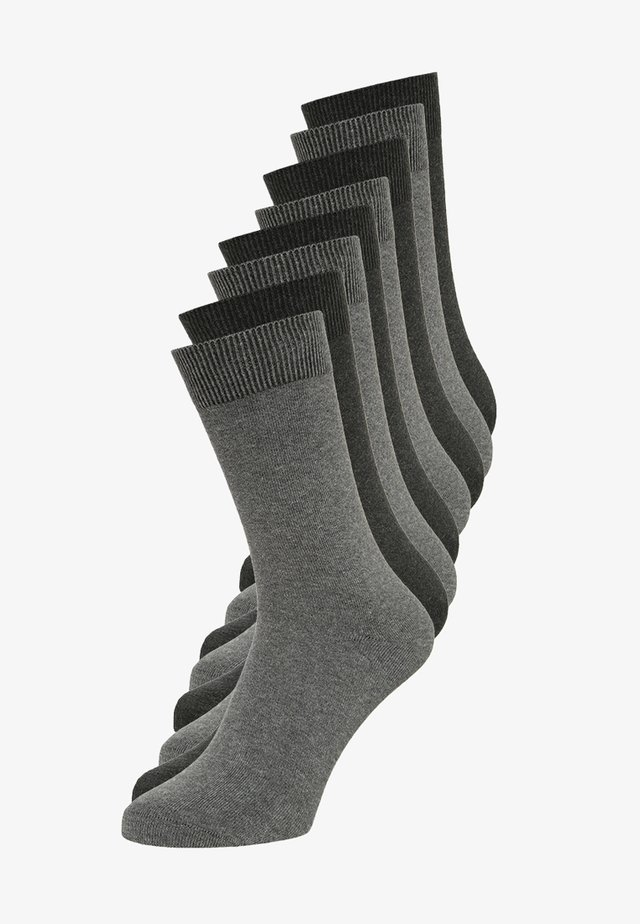 8 PACK - Sukat - dark grey