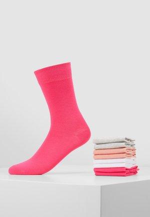 8 PACK - Sukat - neon pink