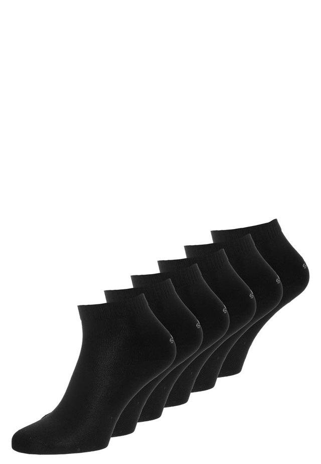 6 PACK - Socken - black