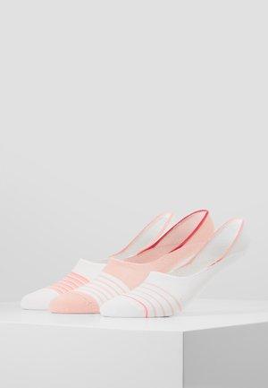 UNISEX FASHION FOOTY 6 PACK - Ponožky - white/light pink