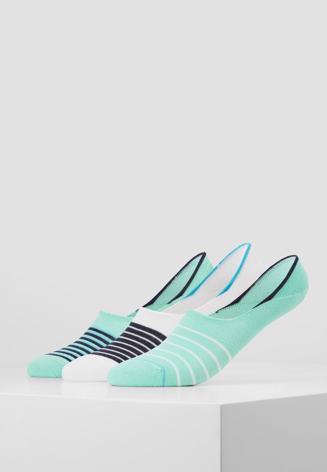 UNISEX FASHION FOOTY 6 PACK - Ponožky - ocean green
