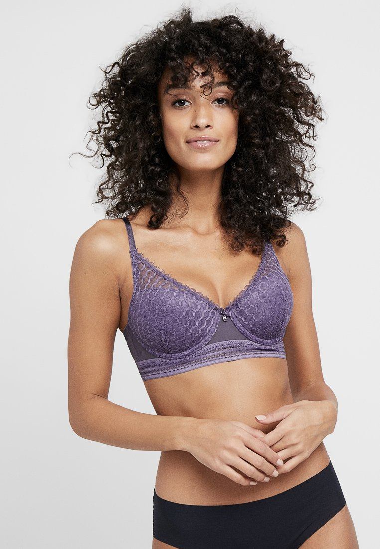 s.Oliver - ESTELLE - Push-up BH - lilac