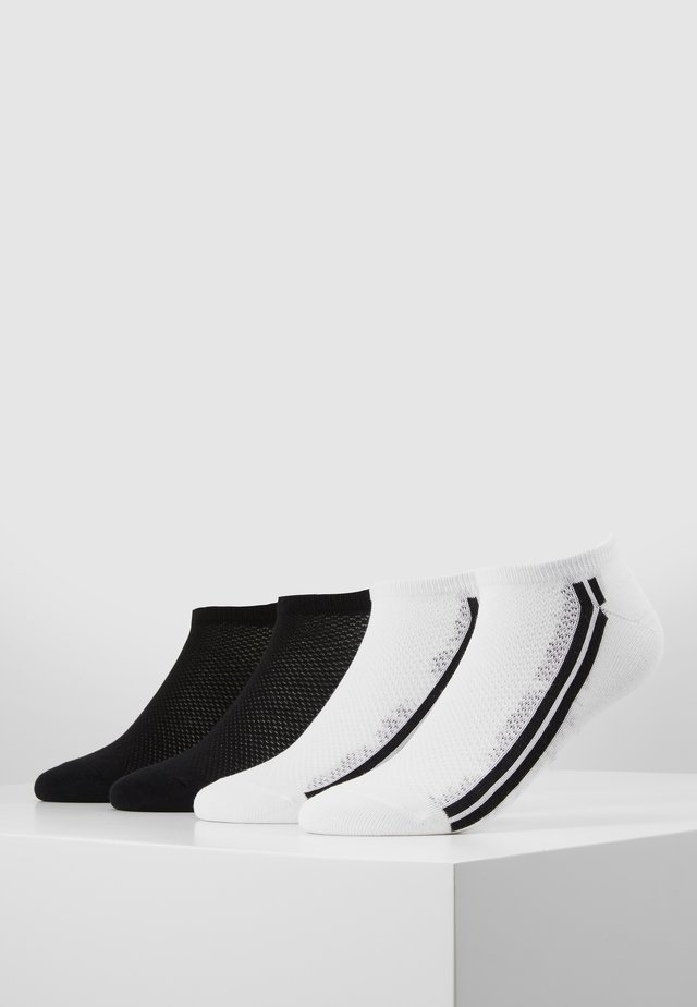 WOMEN FASHION SNEAKER 4 PACK - Socks - white