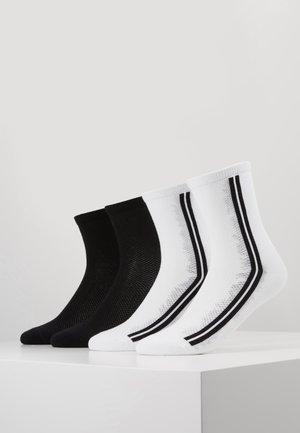 ONLINE WOMEN FASHION SOCKS 4 PACK - Socks - white
