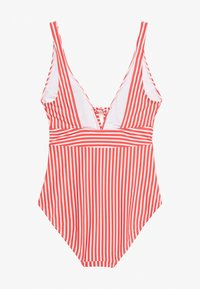s.Oliver - SWIMSUIT - Badpak - red - 1
