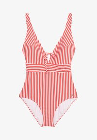 s.Oliver - SWIMSUIT - Badpak - red - 0