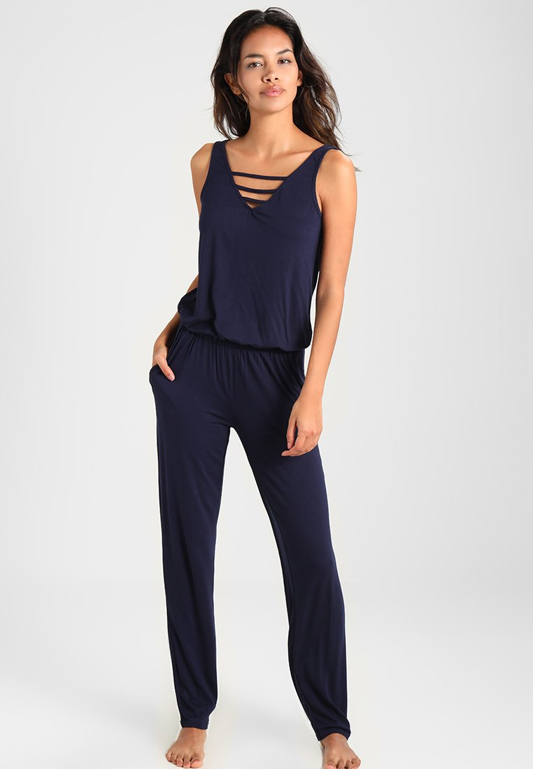 s.Oliver - OVERALL - Jumpsuit - marine