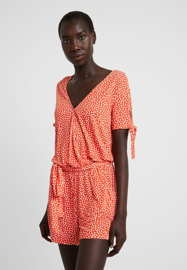 OVERALL - Strandaccessoire - orange/creme
