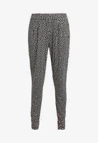 s.Oliver - Pyjamasbukse - schwarz/crem - 3