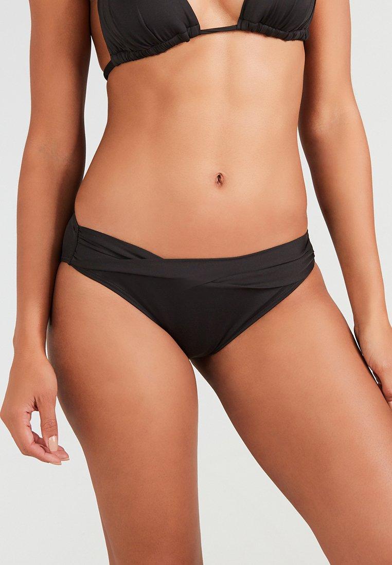s.Oliver - PANTS BAND  - Bas de bikini - black