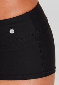 s.Oliver - HOTPANTS  - Bikini bottoms - black - 3